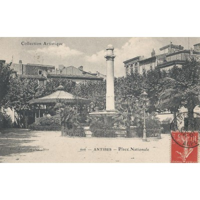 Antibes - Place Nationale