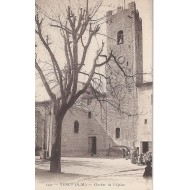 Vence - Clocher de l'église