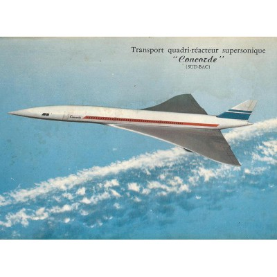 """Concorde"" Transport quadri-réacteur supersonique"