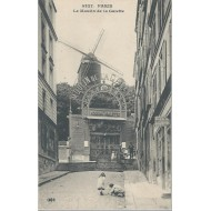 Paris - Le moulin de la Galette