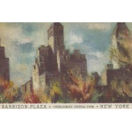 New-York - Barbizon-Plaza - Overlooking central park
