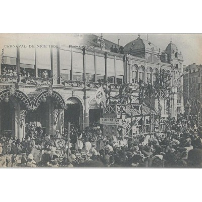 Carnaval de Nice -  L'Éclipse 1906 photo Cauvin