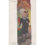 Caricature de Mr Emile Combes 1900