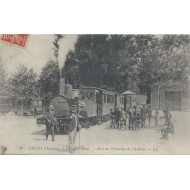 Privas - Champ de Mars - Gare du Tramways