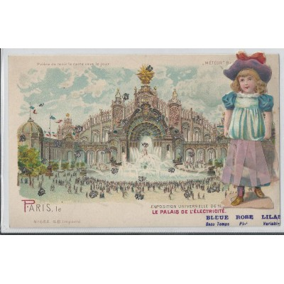 Paris Universal Exhibition of 1900 the Palace of Electricity