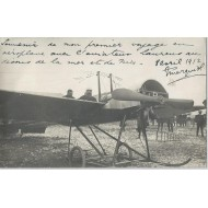 Carte Photo Aviateur Laurens