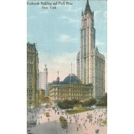 Woolworth Building and Park Row New York