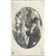 Carte Photo Chevaux