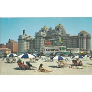 Beautiful traymore hotel on the beach front,Atlantic City