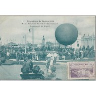 Exposition de Nantes 1904 Ascension du ballon