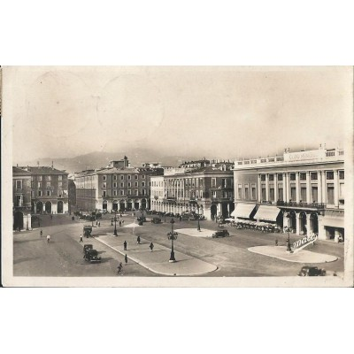 Nice - Place Masséna carte Photo 1951