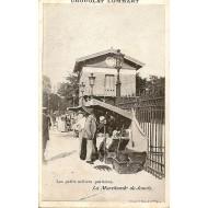 Les petits métiers parisiens La marchande de jouets