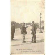 Les petits métiers parisiens - Le Marchand de de plans de Paris
