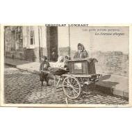 Les petits métiers parisiens La Joueuse d'orgue