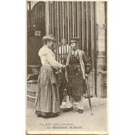 Les petits métiers parisiens le Marchand de Lacet