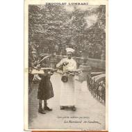 Les petits métiers parisiens Le marchand de gauffres