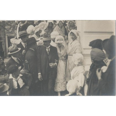 Vence - Carte Photo Fêtes Provencal 1922