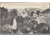 The Monastery of Laghet - Old Postcards