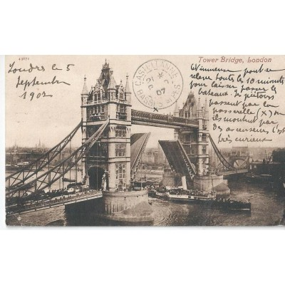 Tower Bridge, London 1907