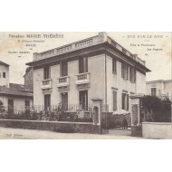 Carte Photo Bon Etat - Nice Pension MARIE-THERESE