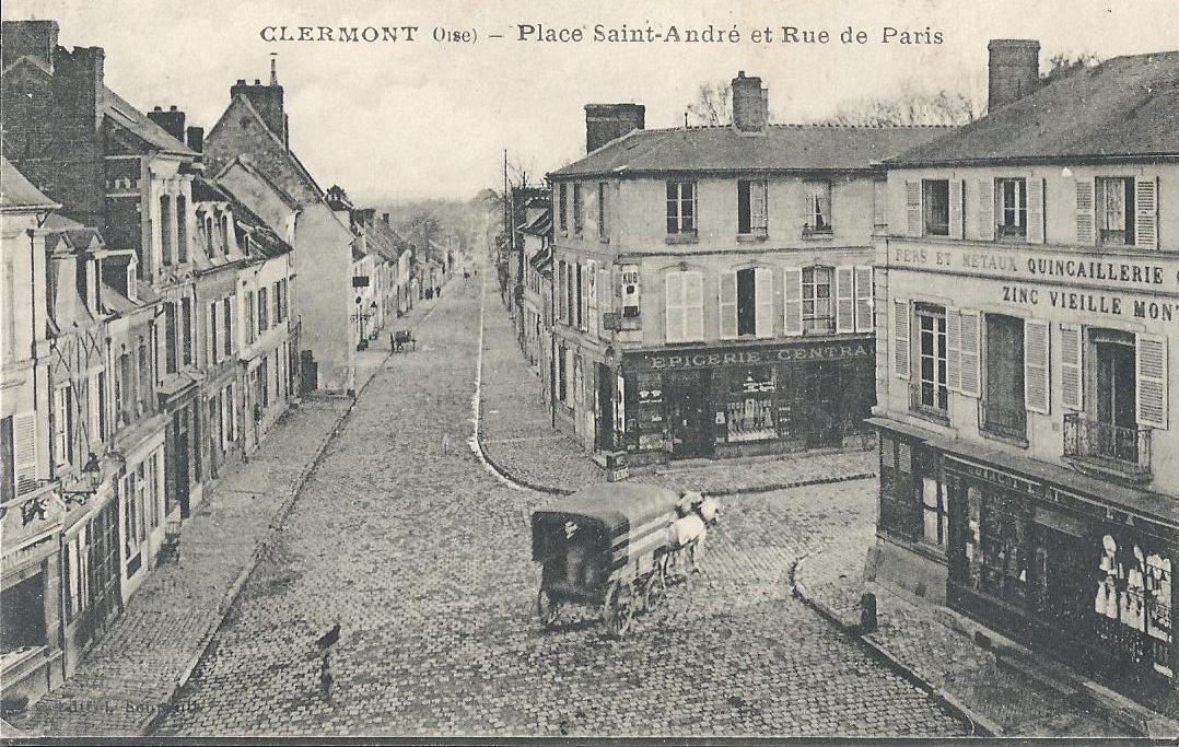clermont ferrand place saint andr et rue de paris. Black Bedroom Furniture Sets. Home Design Ideas